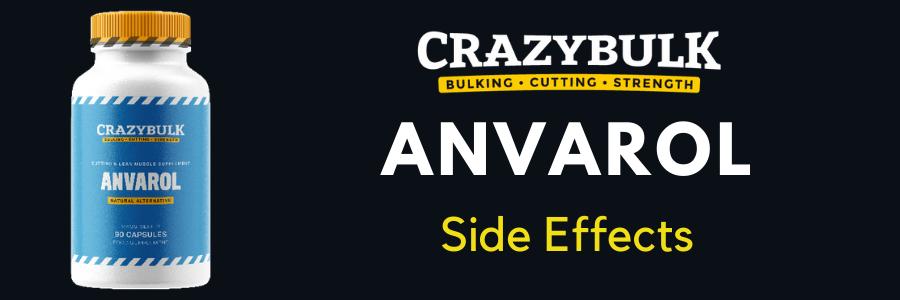 anvarol side effects